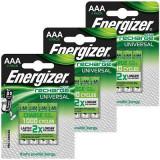Acumulatori AAA 500 mAh,Ni-Mh - Energizer, 12 buc