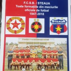 FCSB STEAUA TOATE FORMATIILE DIN MECIURILE OFICIALE 1947 2019 ROMEO IONESCU 196P