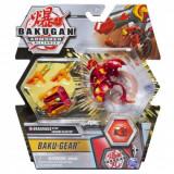 Bakugan S2 Ultra Dragonoid cu echipament Baku-gear Magma Blaster