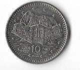 Moneda 10 pence 1993 - Gibraltar