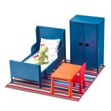 Set mini mobilier pentru papusi, 3 ani+, Multicolor, General