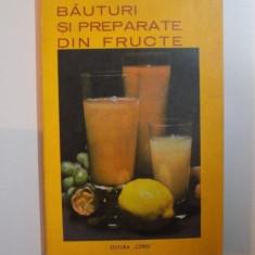 BAUTURI SI PREPARATE DIN FRUCTE de S. TEODORESCU , MARIA MACIGHIANU , Bucuresti 1973