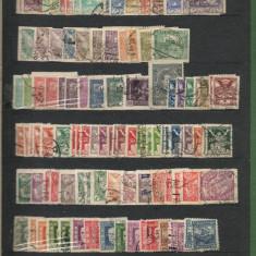 Cehoslovacia.Lot peste 2.500 buc. timbre stampilate multiple+BONUS clasor  LL.2