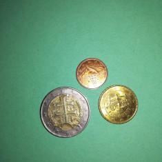 Monede euro : Slovacia  2009(primele monede euro de la intrarea in UE)