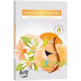 Set Lumanari Tip Pastila Aroma Floare de Mandarin 6 buc.