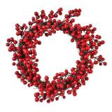 Cumpara ieftin Coronita decorativa de Craciun, 30 cm, model berries poisonous