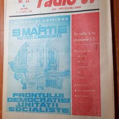 Revista radio-tv saptamana 9-15 martie 1980