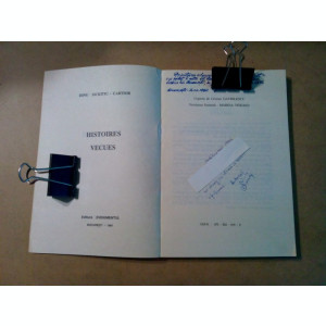 INTINPLARI TRAITE -  Dinu Sichitiu-Cartior (autograf) - 1991, 254 p.