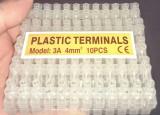 Reglete electrice, terminale de jonctiune, plastic terminals