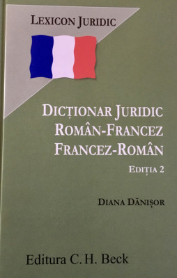 Vand Dictionar Juridic Francez-Roman Roman- Francez foto