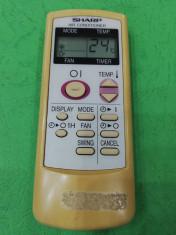 telecomanda aer conditionat marca SHARP ,reper telecomanda CRM A530 JBEZ foto