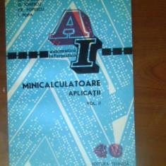 Minicalculatoare. Aplicatii vol.2