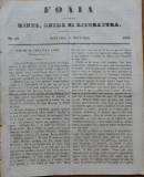 Ziarul Foaia pentru minte , inima si literatura , nr. 50 , 1853