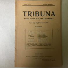 Tribuna - an I, numărul 1, 1915