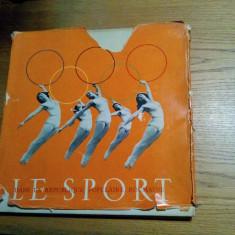LE SPORT dans la Republique Populaire ROUMAINE  - ALBUM -  Bucarest, 1960, Alta editura