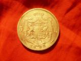 Moneda 5 lei 1883 Carol I , argint , cal. Buna- F.Buna