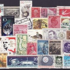 83 - Lot timbre diverse tari