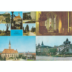 Cluj Napoca aprox. 1975 - Lot 4 carti postale