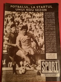 Revista SPORT - nr.7/iulie1986 (STEAUA Bucuresti)