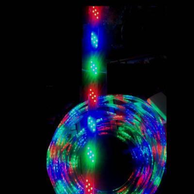 Furtun Luminos 50m cu Banda 108LED SMD/ml Jocuri Lumini Multicolore foto