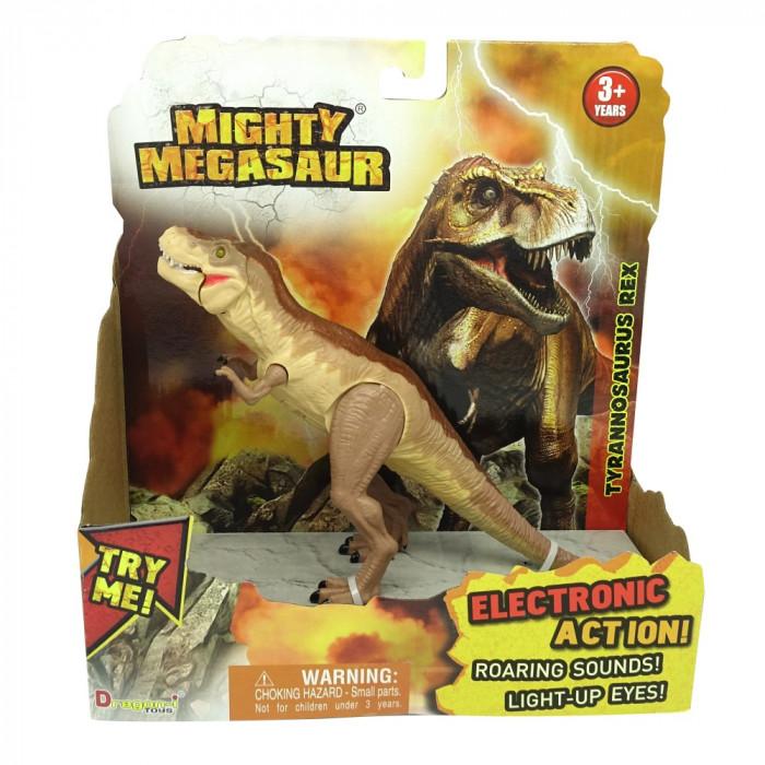 Mighty Megasaur Dinozaur cu lumini si sunete- Velociraptor - 16896-3