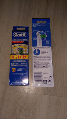 Oral B Precision Clean (set 10 rezerve , Zeolit de argint si zinc) foto