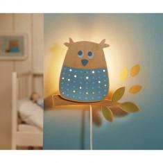 Lampa de veghe Haba Bufnita inteleapta