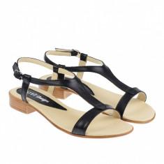 Sandale dama din piele naturala box - S16NBOX