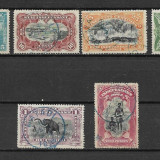 Congo Belgian 1894, serie completa, Nestampilat
