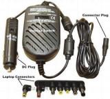 Incarcator ACTIVE Universal, Auto (masina) 12V, 8 conectori inclusi, Tensiune reglabila 12, 15, 16, 18, 19, 20, 22, 24 V