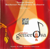 """CD """"George Enescu"""" Bucharest Philharmonic Orchestra – Live In Concert"""