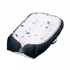 Salteluta-cuib pentru bebelusi dark blue