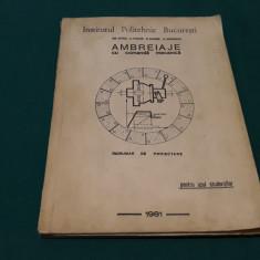AMBREIAJE CU COMANDAĂ MECANICĂ* ÎNDRUMAR DE PROIECTARE/GR.SIRBU/1981