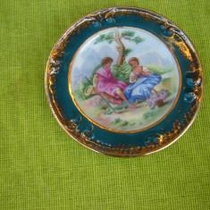 Portelan Limoges France, farfurioara decorativa