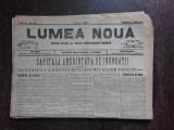 Ziarul Lumea Noua, ziar socialist,organ al P.S.D.-M.R.,Anul III, 866 duminica 1 iunie 1897