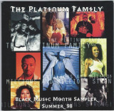 CD The Platinum Family - Black Music Month Sampler Summer '98, original