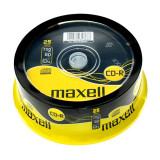 CD-R Maxell, 700 MB, 52x, 25 bucati/bulk in cake box
