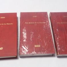 Iscusitul Hidalgo Don Quijote De La Mancha - 3 VOLUME EDITIA ADEVARUL*Rf16/3