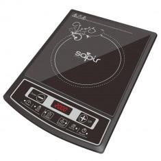 Plita cu inductie SAPIR SP 1445 LG, 2000W, Ecran LED, 4 functii, 8 trepte