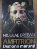 AMFITRION VOL.1 DEMONII MARUNTI-NICOLAE BREBAN, Agatha Christie