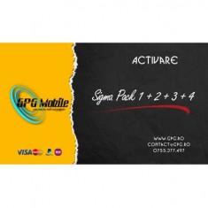 Activare Sigma Pack 1 + 2 + 3 + 4 pentru Sigma Box / Dongle