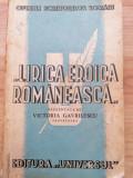 Lirica Eroica Romaneasca - Victoria Gavrilescu (1943/poezia nastionalista)