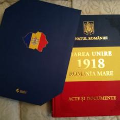"Album ""Marea Unire 1918. Romania Mare. Acte si Documente"", V. Puscas, Centenar"