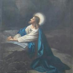 Tablou  f vechi  ani 1890, Religie, Ulei, Altul