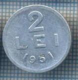 AX 743 MONEDA- ROMANIA - 2 LEI -ANUL 1951 -STAREA CARE SE VEDE
