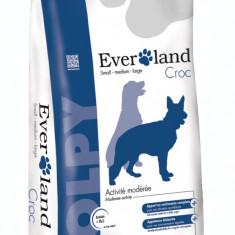 Hrana uscata pentru caini, Everland Woply Dog Adult Croc, toate taliile, 20 kg