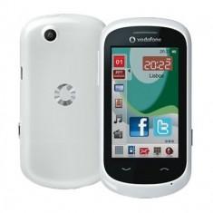 Vodafone 550 White Touchscreen, Alb, Neblocat, Smartphone