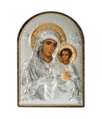 Icoana Maica Domnului Ierusalim 4.2x5.8 cm Cod Produs 1749 foto