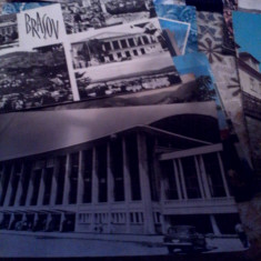 Lot 15 carti postale Brasov anii 60-70, Ambele, Romania de la 1950