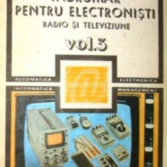 Indrumar pentru electronisti. Radio si televiziune, vol. 3